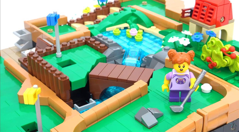 LEGO Ideas Mini Golf Course