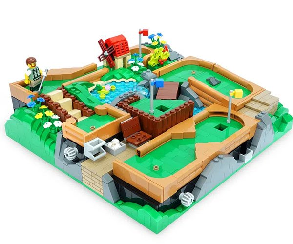 LEGO Ideas Mini Golf Course