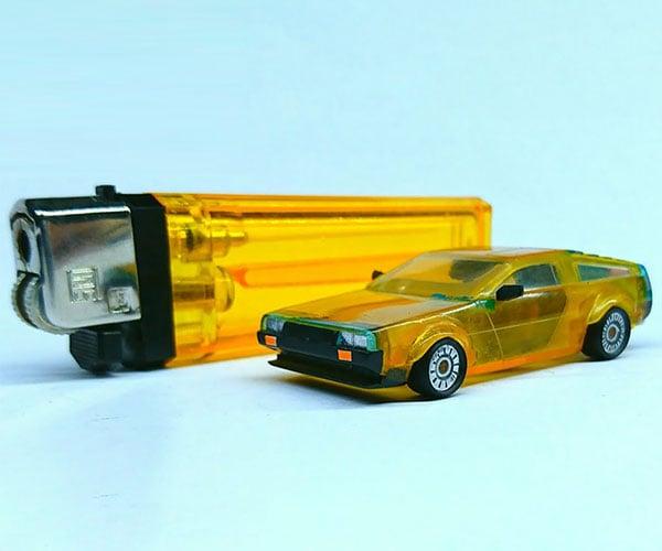 Cigarette Lighter DeLorean