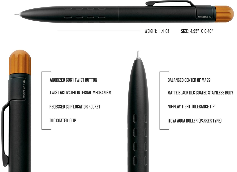 Machine Era Field Pen Twist