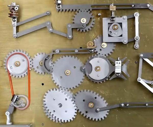 Mechanical Man Kinetic Wall Art