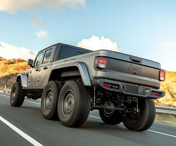 Next Level Jeep Gladiator 6×6