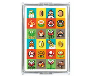 Super Mario Game Stage Cards
