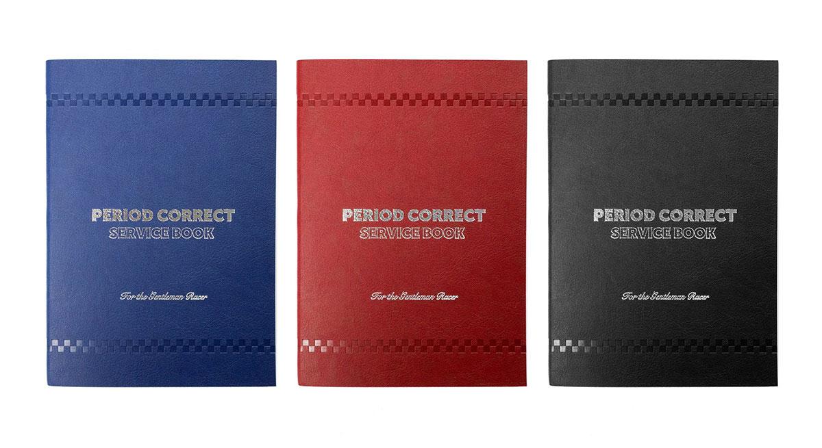 Period Correct Automotive Service Books
