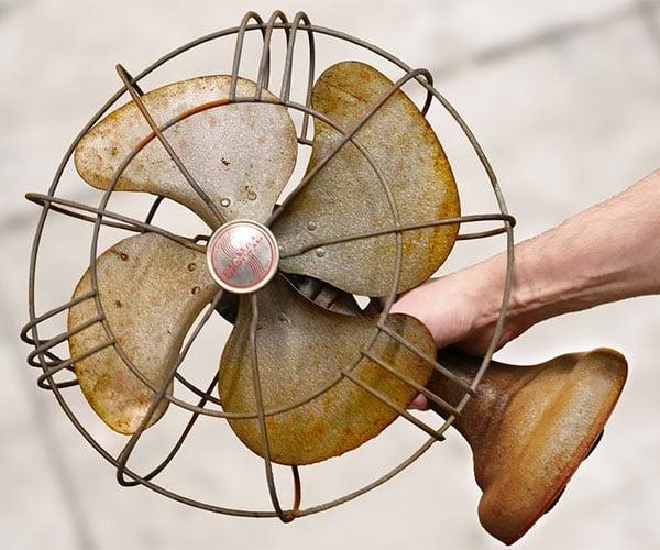 Restoring a Rusty Table Fan