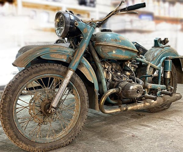 Restoring a Vintage Russian Motorcycle