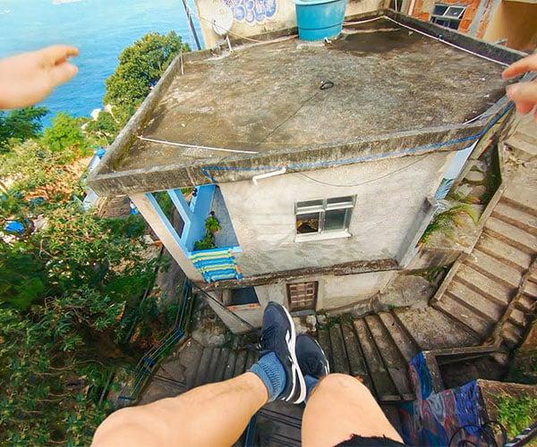 Rio de Janeiro Parkour Run