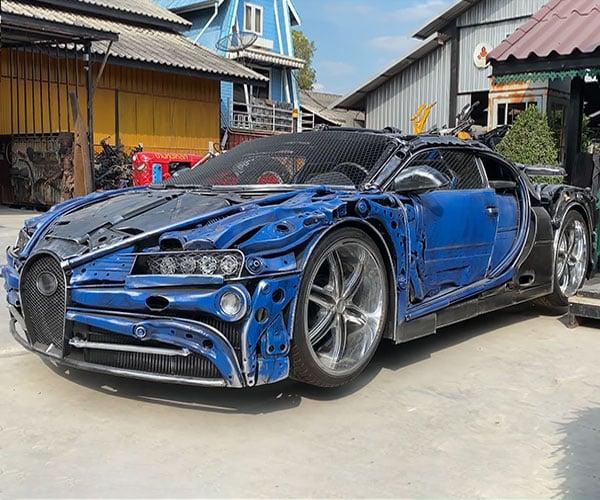 Scrap Metal Bugatti