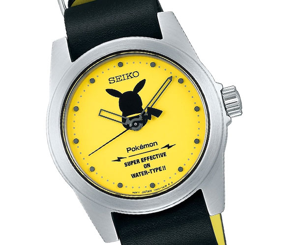 Seiko Pikachu Pokémon Watch