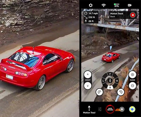 Skydio 2 Autonomous Drone Tracking Test