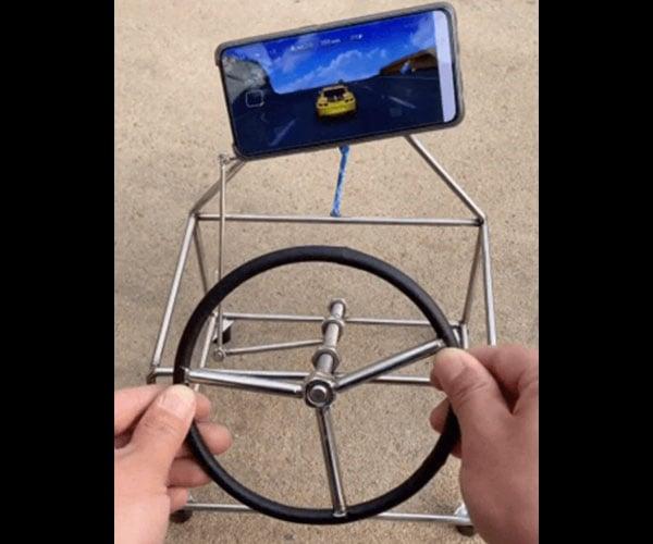 Smartphone Steering Rig