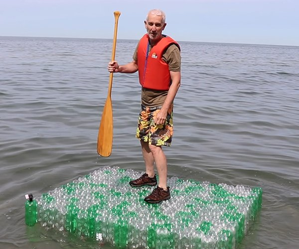 DIY Soda Bottle Raft