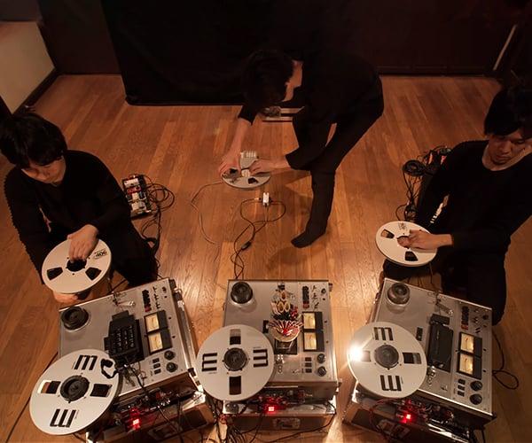 Tape-pulling Music
