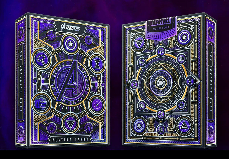 Avengers Infinity Saga Playing Cards
