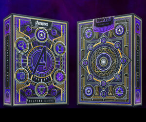 Avengers Infinity Saga Playing Cards