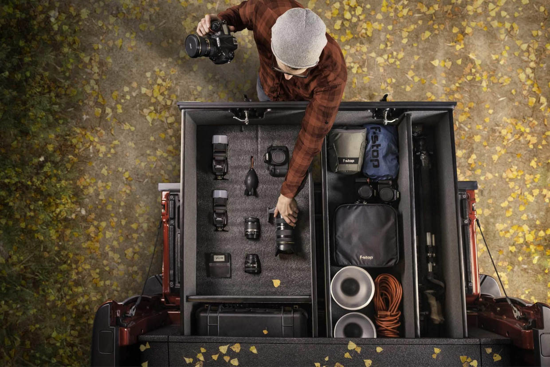 TruckVault Photography Gear Storage