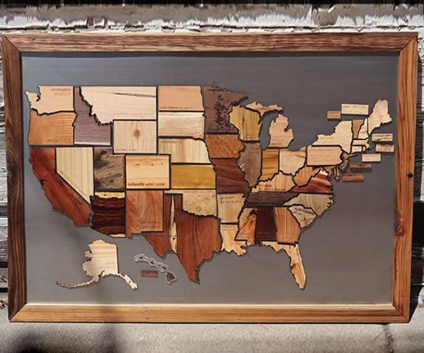 50 States, 50 Woods