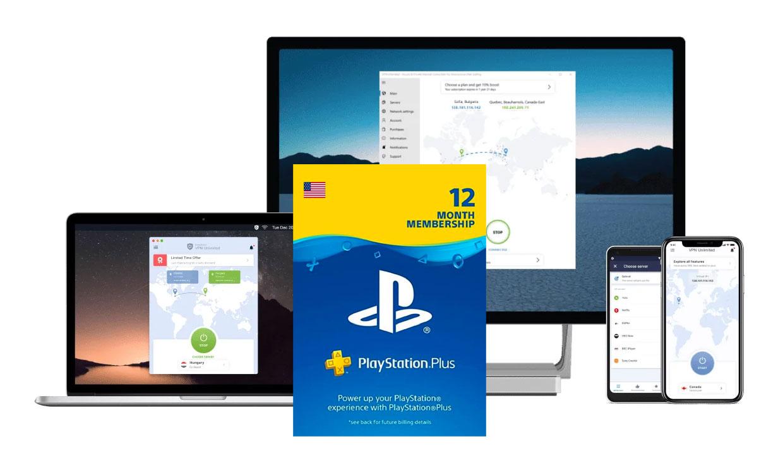 VPN Unlimited + Playstation Plus Bundle Deal