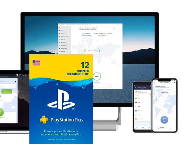 VPN Unlimited + Playstation Plus Bundle Deal