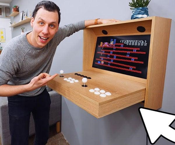 Making a Hidden Arcade Machine