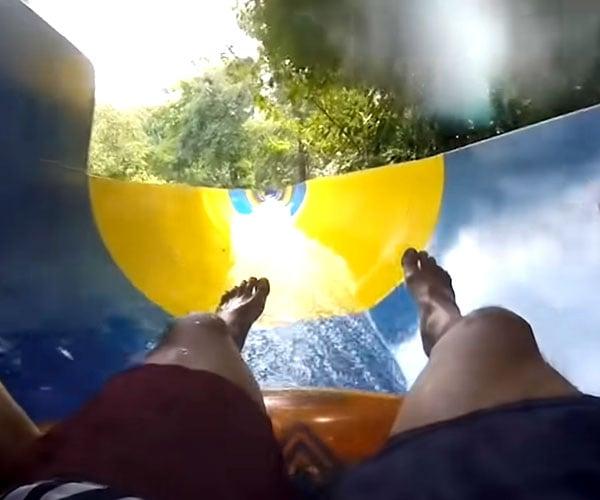 World's Longest Water Slide POV