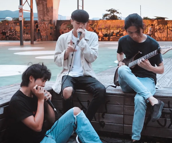 Beatbox + Guitar + Harmonica Cover 40oz