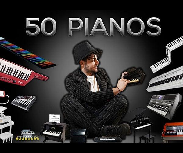 50 Pianos, 1 Song