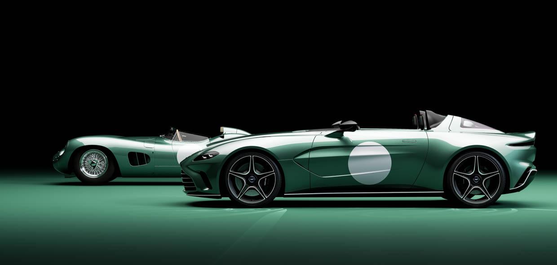 Aston Martin V12 Speedster DBR1 Spec