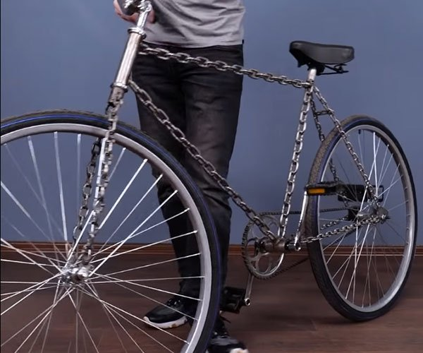 Making a Bicycle from Chains