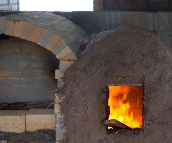 Building a Brick Pottery Kiln from Scratch