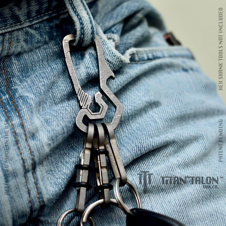 Clavis Plex Titanium Key Clip