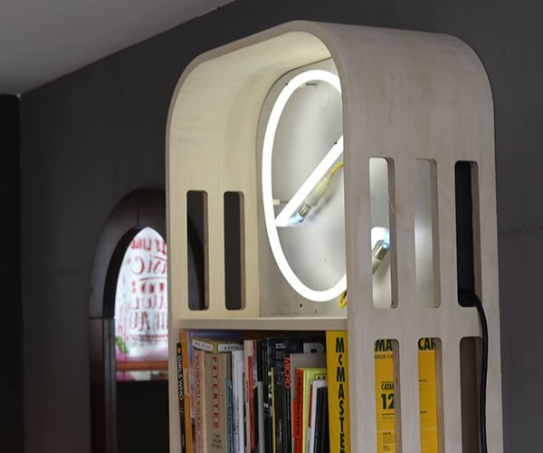 Making a Curved Corner Bookcase
