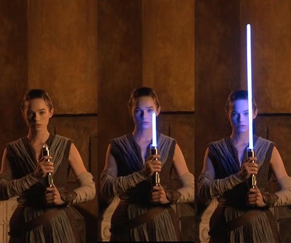 Disney's Retractable Lightsaber