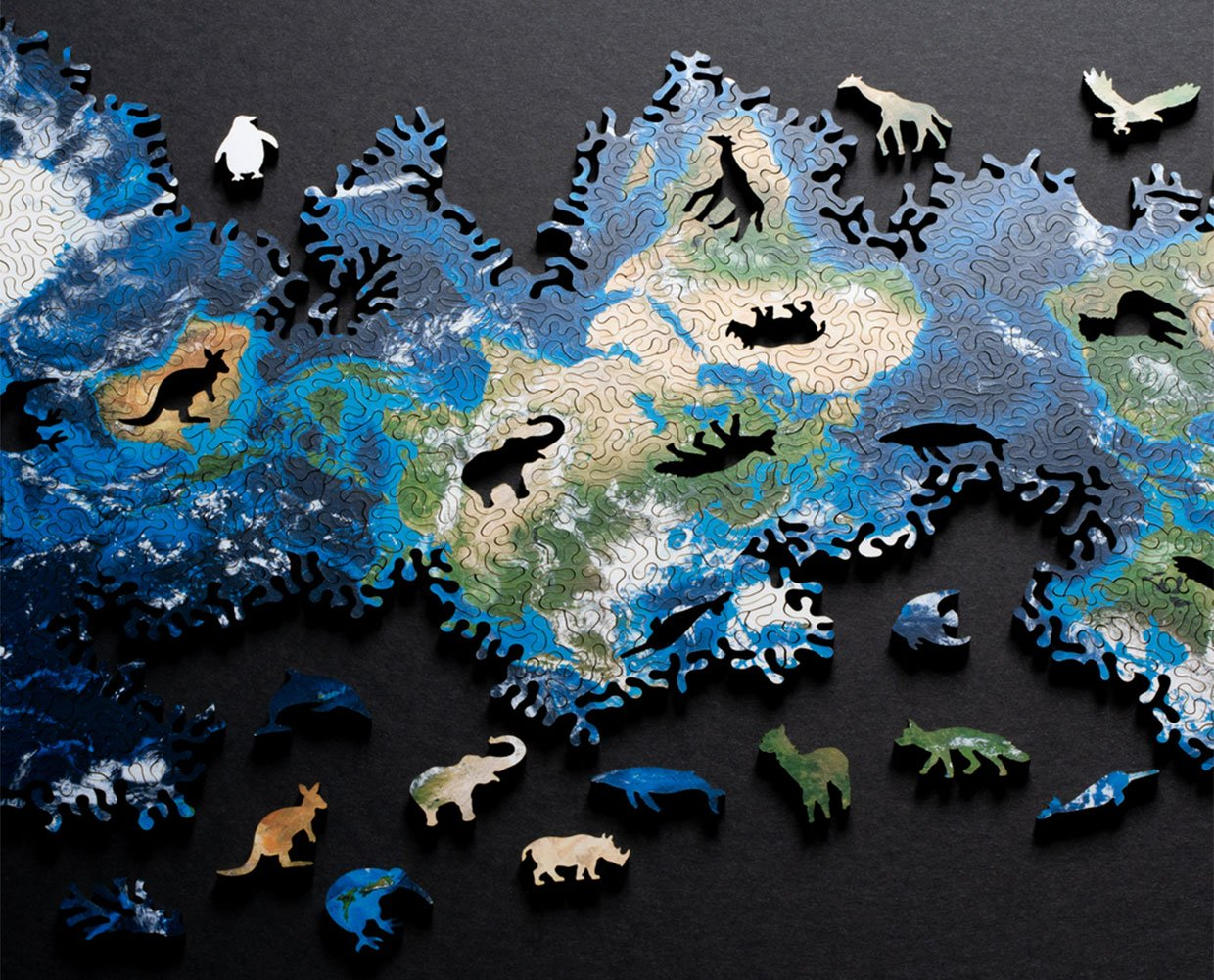 Earth + Moon Infinity Puzzles