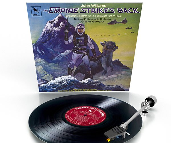 The Empire Strikes Back Symphonic Suite on Vinyl