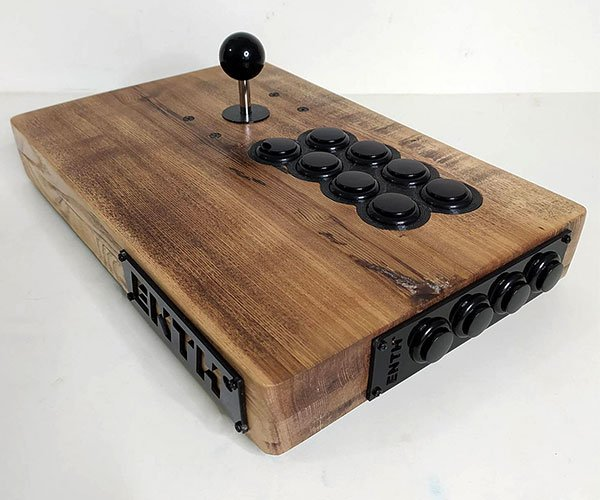 Enth Wooden Arcade Controllers