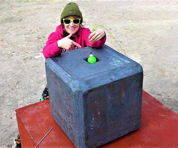 Hand Grenade vs. Steel Box