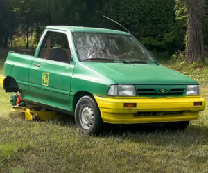 Ford Festiva Lawnmower
