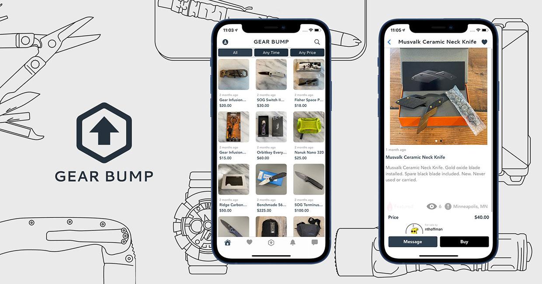 Gear Bump EDC Marketplace App