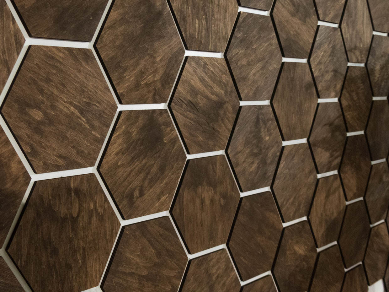 Honeycomb Wood Wall Panels