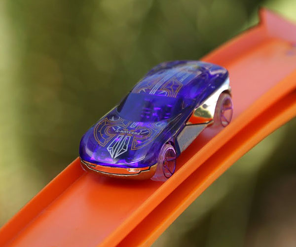 Hot Wheels Roller Coaster