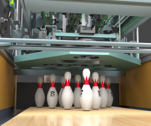 How a Bowling Pinsetter Machine Works
