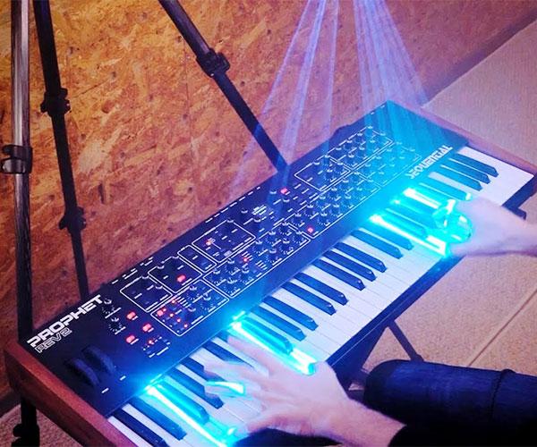 LaserCube Piano Key Demo
