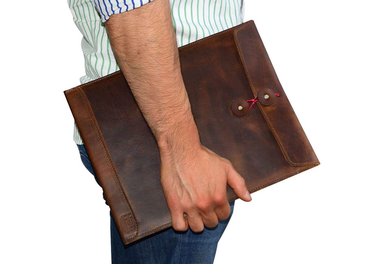 Leather Envelope Document Holder