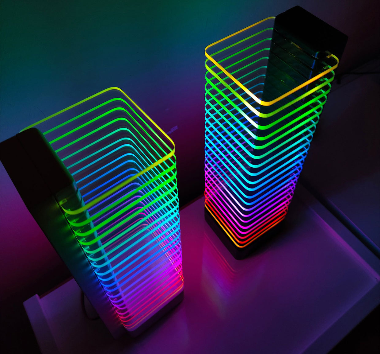 RGB LED Tower Desk Light