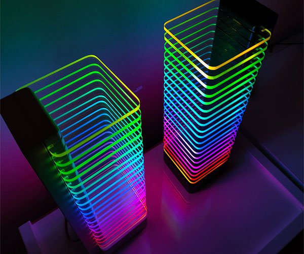 RGB LED Tower Desk Light