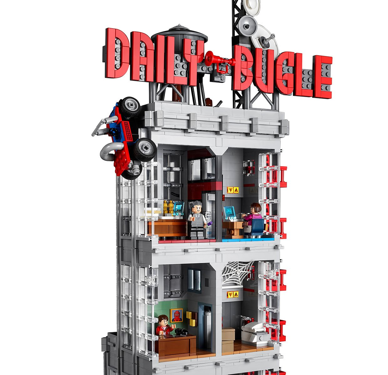 LEGO Spider-Man Daily Bugle Tower