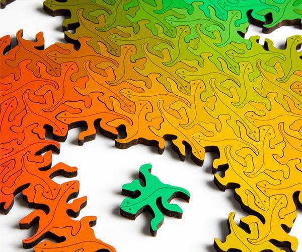 Lizard Infinity Puzzle