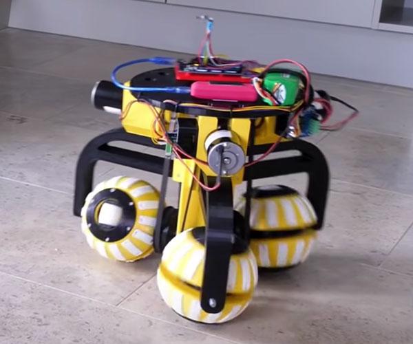 Omni-Directional Ball Robot
