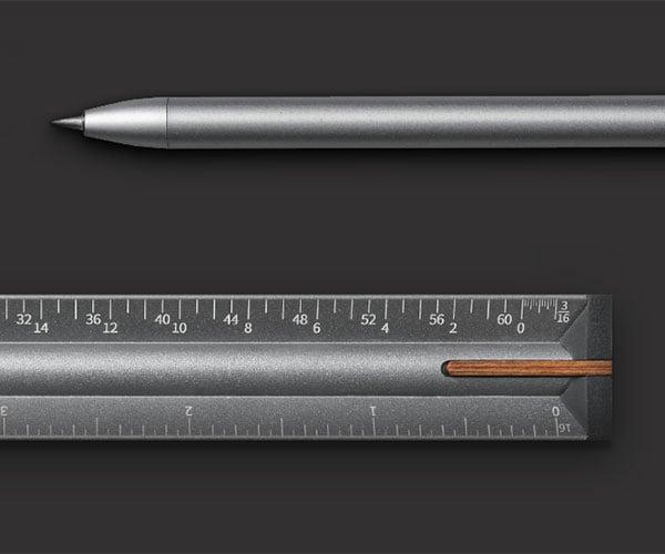 ONE 3 Ruler + Pen